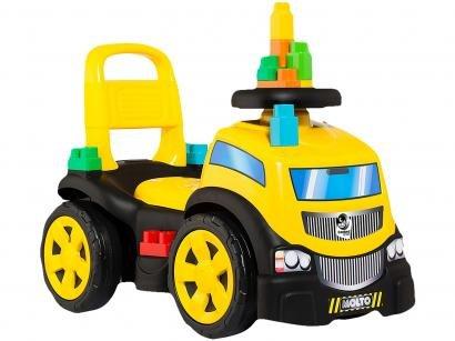 Andador Infantil - Baby Land Blocks Truck Ride on Menino Cardoso Toys