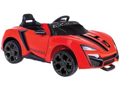 Mini Carro Elétrico Infantil Roadster GT - com Controle Remoto 2 Marchas 12V Bandeirante