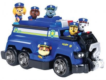 Carrinho Patrulha Canina Team Police Cruiser - Sunny Brinquedos 7 Peças