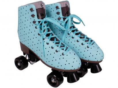 Patins 4 Rodas Bel Fix Weekend Azul