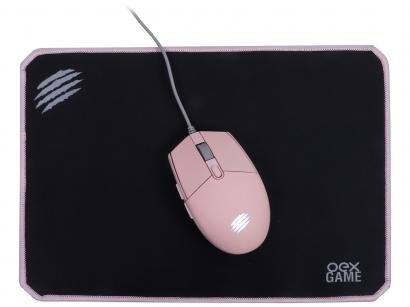 Kit Gamer Mouse + Mouse Pad - OEX Game MC104 Combo Arya