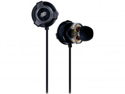 Fone de Ouvido OEX Game FN501 Quad Plus - Intra-auricular com Microfone Preto