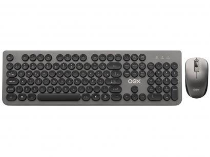 Kit Teclado e Mouse sem Fio OEX - TM410 Combo Pop+