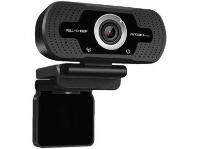 Webcam Full HD Argom CAM40 1080MP - com Microfone