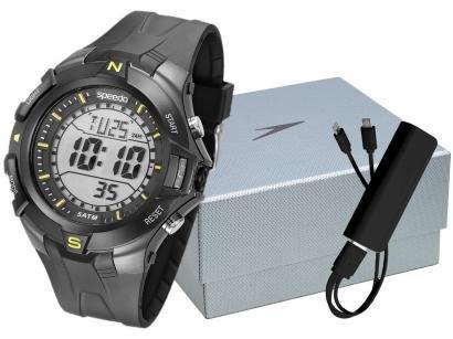 Relógio Masculino Speedo Digital - 81146G0EVNP1K1 Preto com Acessórios