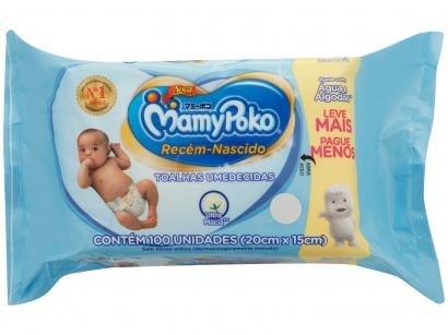 Toalha Umedecida MamyPoko Recém-Nascido - 100 Unidades