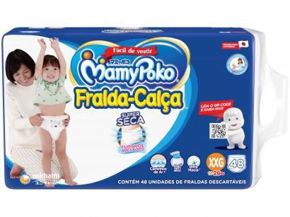 Fralda MamyPoko Super Calça Tam. XXG - 15 a 26kg 48 Unidades