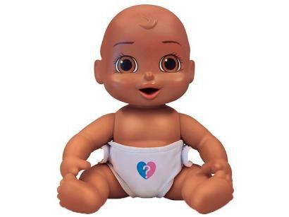 Boneca Bebê Surpresa com Acessórios - Estrela