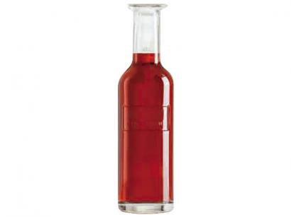 Garrafa de Vidro para Vinho com Tampa 1L - Luigi Bormioli Optima Fine Wine