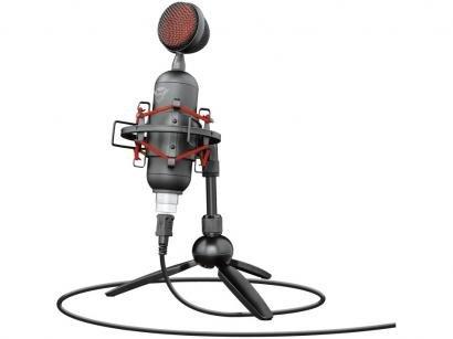 Microfone Condensador Profissional Streaming Trust - Buzz GXT 244 USB