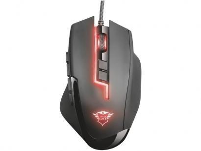 Mouse Gamer Trust Óptico 5.000DPI - 13 Botões GXT 164 Sikanda