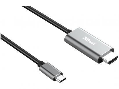 Cabo USB-C para HDMI 1,8m Trust - Calyx