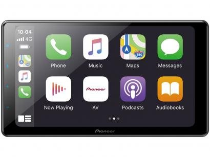"Central Multimídia Pioneer 1 DIN TV Digital - Bluetooth Wi-fi 9"" Touch USB Série-Z DMH-ZF9380TV"