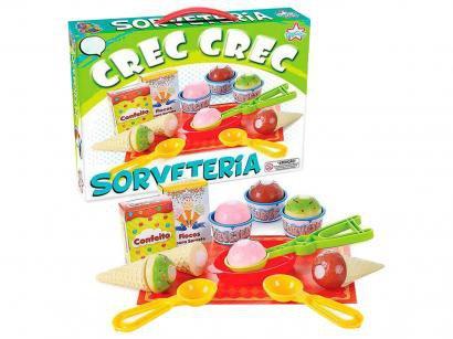 Sorveteria de Brinquedo Crec Crec Sorveteria - Big-Star