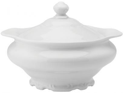 Sopeira de Porcelana Schmidt Pomerode 3L - Branca com Tampa