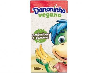 Bebida Vegetal À Base de Amêndoa Danoninho - Amêndoa e Banana 100% Vegetal 200ml