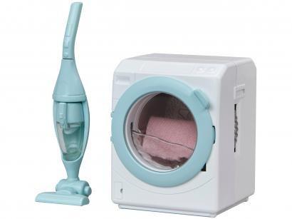 Sylvanian Families Máquina de Lavar Roupa - e Aspirador de Pó com Acessórios Epoch Magia