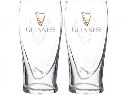 Jogo de Copos de Vidro para Cerveja 600ml - 2 Peças Guinness 8608061