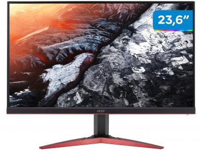 "Monitor Gamer Acer KG241QS 23,6"" LED Widescreen - Full HD HDMI 165Hz 1ms"