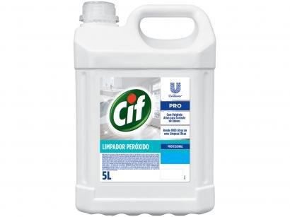 Limpador Multiuso Cif Pro Peróxido Profissional 5L