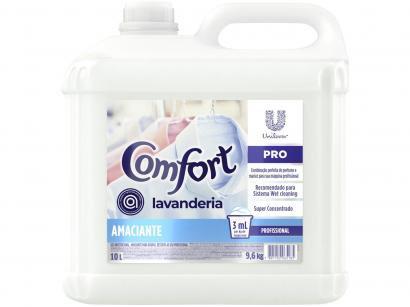 Amaciante Comfort Pro Lavanderia Concentrado - Hipoalergênico Profissional 10L