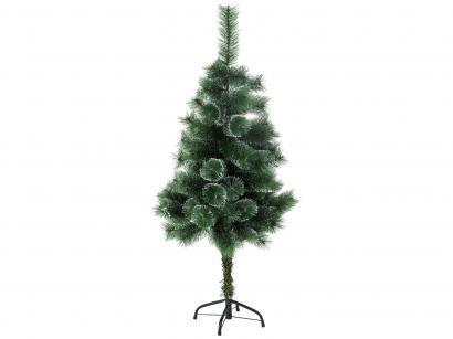 Árvore de Natal Nevada 120cm Verde e Branca - 90 Galhos Casambiente NATAL018