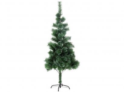 Árvore de Natal Nevada 150cm Verde e Branca - 138 Galhos Casambiente NATAL019