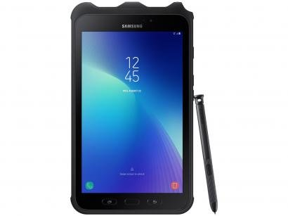 "Tablet Samsung Galaxy Tab Active 2 com Caneta - 8"" 4G Wi-Fi 16GB Android Octa-Core Câm. 8MP"