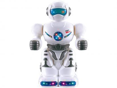 Robô com Movimento Tectoys Ágil Emite Som - Luz Polibrinq