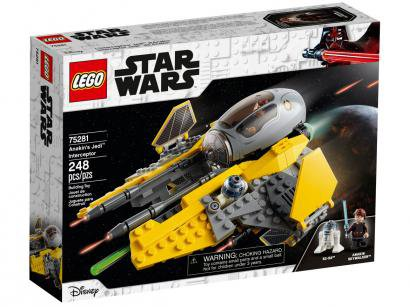 LEGO Star Wars Interceptor Jedi de Anakin - 248 Peças 75281