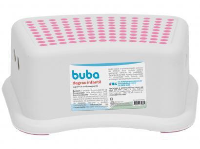Degrau Infantil Antiderrapante Rosa - Buba