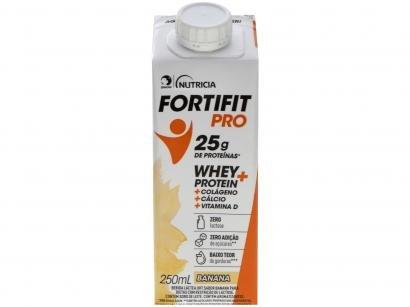 Bebida Láctea Fortifit Pro Banana Zero Açúcar - 250ml
