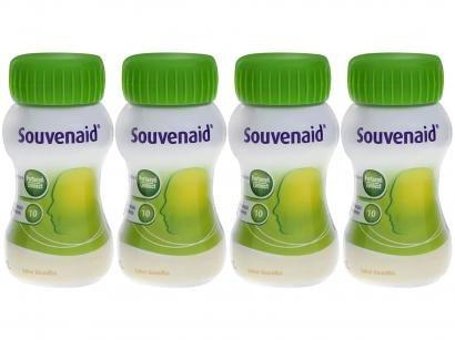 Suplemento Alimentar Adulto Souvenaid Baunilha - 125ml 4 Unidades