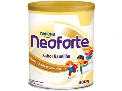 Suplemento Nutricional Infantil Neoforte Baunilha - 400G