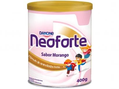 Suplemento Nutricional Infantil Danone Morango - Neoforte 400g