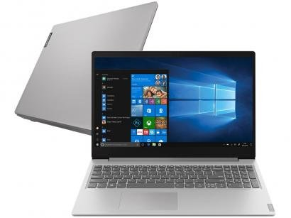 "Notebook Lenovo Ideapad S145 Intel Core i7 8GB - 256GB SSD 15,6"" Full HD Placa Iris Plus Windows 10"