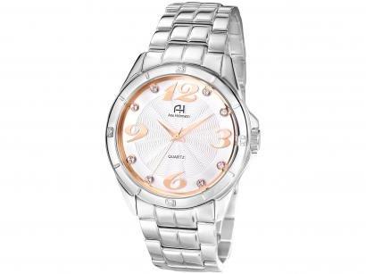 Relógio Feminino Analógico Ana Hickmann - AH28606Q Prata