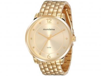 Relógio Feminino Analógico Mondaine - 76759LPMVDE2 Dourado