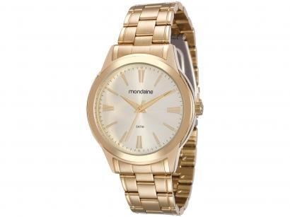 Relógio Feminino Analógico Mondaine - 83342LPMVDE1 Dourado