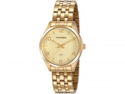 Relógio Feminino Analógico Mondaine - 99460LPMVDE2 Dourado