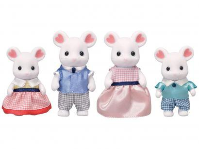 Sylvanian Families - Família dos Ratos Marshmallow Epoch Magia