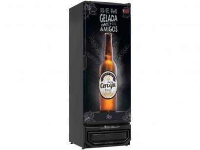 Cervejeira Gelopar GRBA-400 PR Vertical 410L - Frost Free 1 Porta