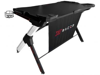 Mesa Gamer XT Racer XTM1000 Experience Series - Preta e Vermelha