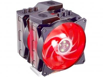 Cooler FAN para Processador Intel AMD - Cooler Master Masterair 212 MA620P RGB
