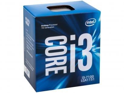Processador Intel Core i3 7100 3.90GHz 3MB