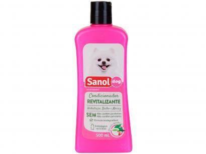 Condicionador Cachorro - Revitalizante Sanol Dog 500ml