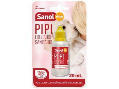Educador Sanitário Xixi Sim para Cães e Gatos - Sanol Dog Pipi 20ml