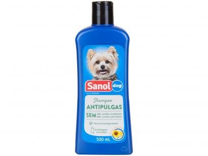 Shampoo para Cachorro Antipulgas - Sanol Dog 500ml