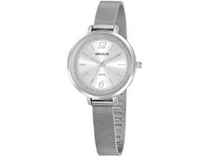 Relógio Feminino Seculus Analógico - 20869L0SVNS2 Prata