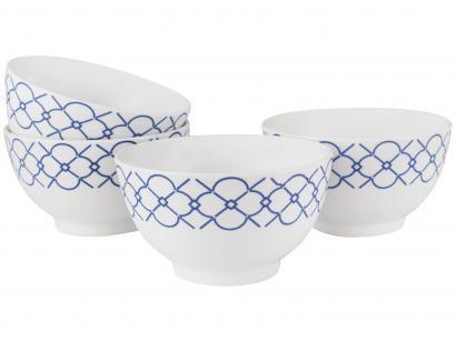 Conjunto de Bowls de Porcelana 4 Peças - Schmidt Mosaico